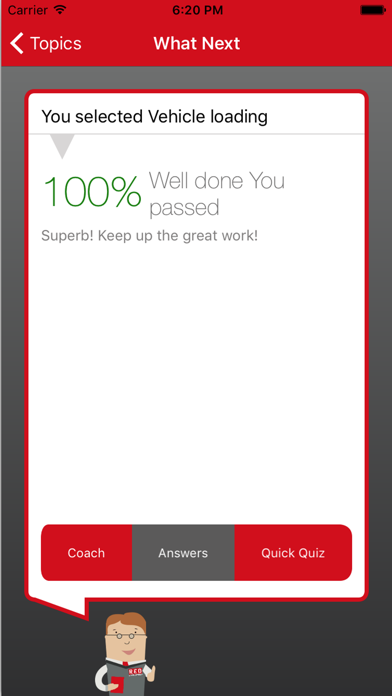 RED Theory Test screenshot one