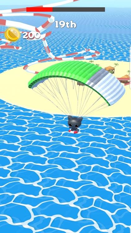 Water Slide Park Cat: Aquapark screenshot-5