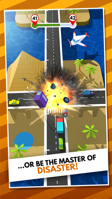 Traffic Rush 3D screenshot 2