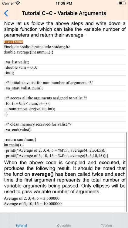 Tutorial for C screenshot-4
