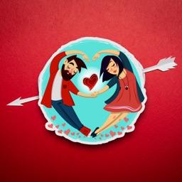 Animated Emojis Stickers Love