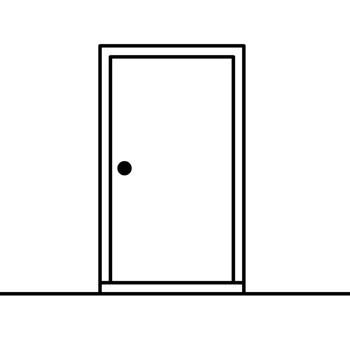 The White Door Logo