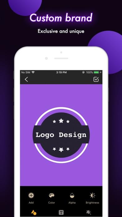 Logo Design - Maker & CreatorScreenshot of 2