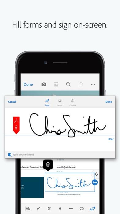 Adobe Acrobat Reader for PDF Screenshot