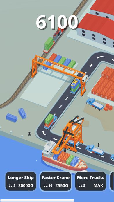 Idle Port Tycoon - Sea game screenshot 1