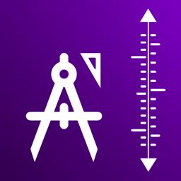 Ícone do app Foto medida comprimento parede