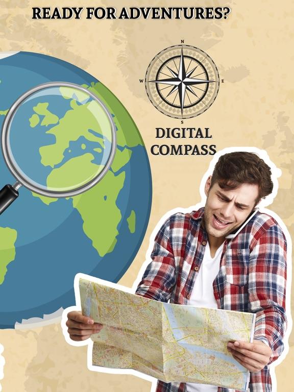 Precise Digital Compass screenshot