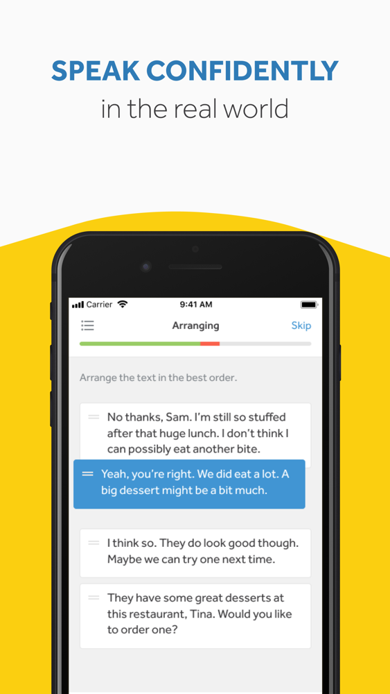 Rosetta Stone: Fluency Builder App for iPhone - Free