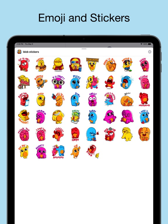 Boo emoji - weird stickers screenshot 6