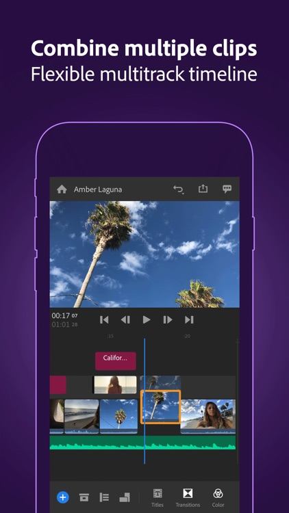 Adobe Premiere Rush for Video screenshot-6