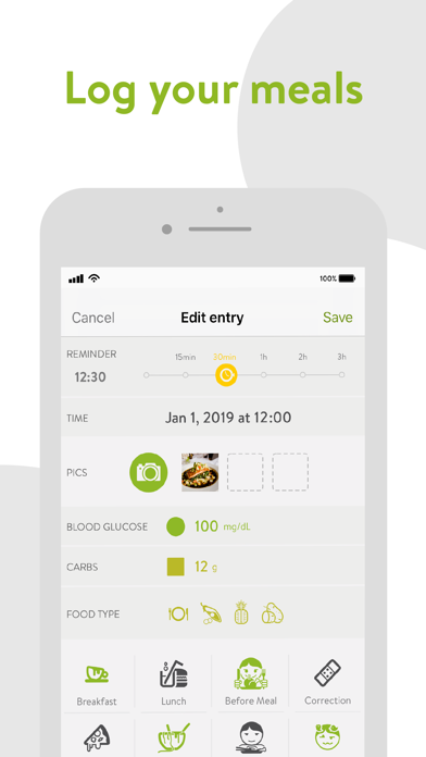 mySugr - Diabetes Tracker Logのおすすめ画像2
