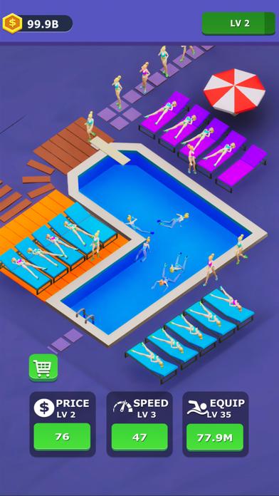 Idle Swimming Pool screenshot 3