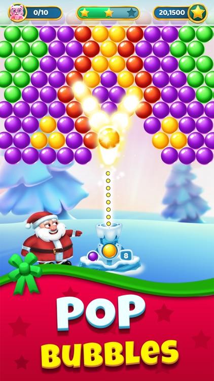 Christmas Games - Bubble Pop