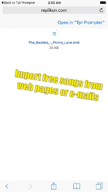 Trumpet Prompter screenshot-3