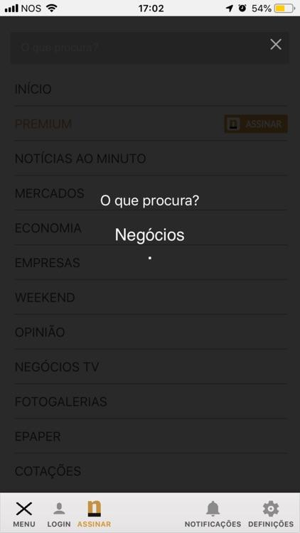 Negócios screenshot-4