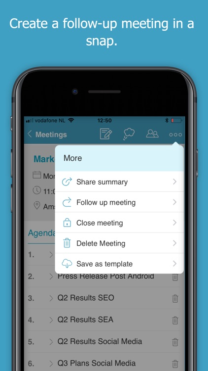 Minute - Makes Meetings Easy screenshot-4