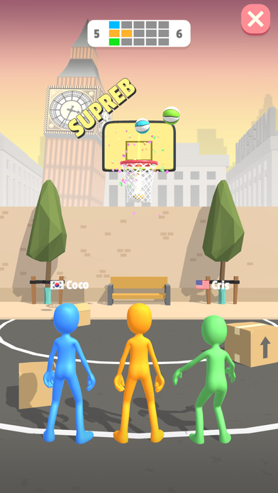 Five Hoops screenshot 3