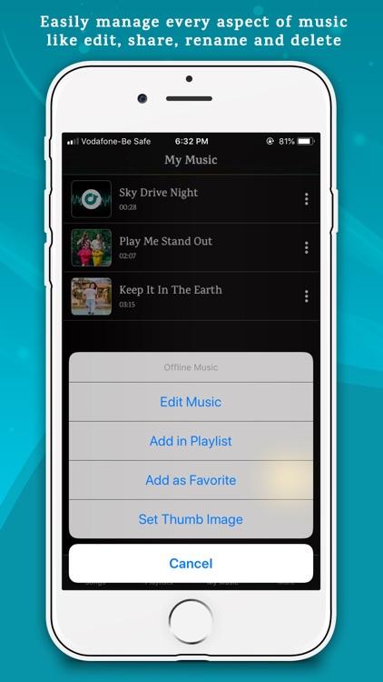 Offline Music Player Lite screenshot-8
