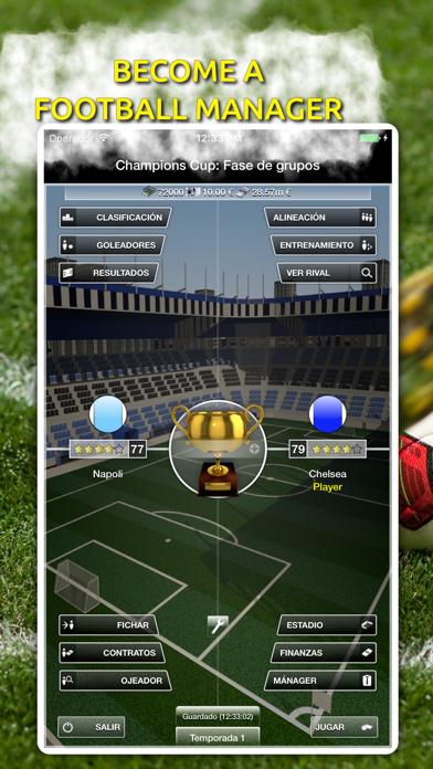 iClub Manager 2 screenshot one