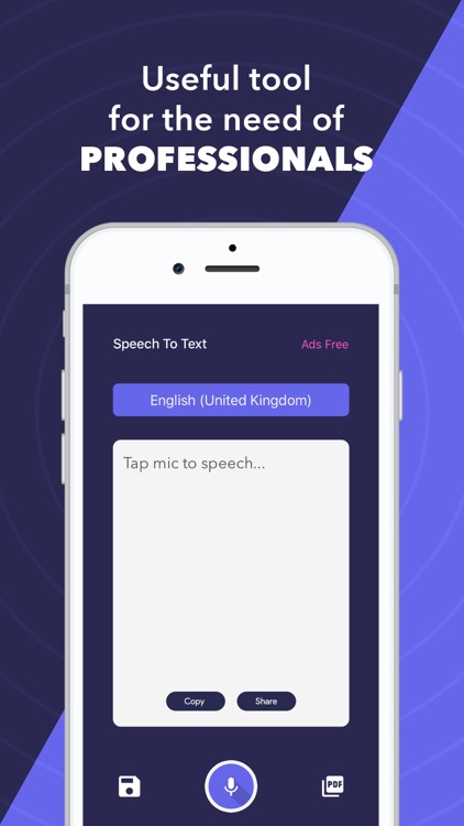 Speech to Text & Voice to Text