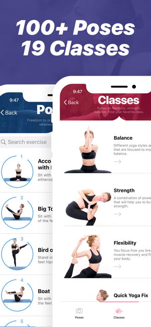 Yoga Poses Classes On The App Store