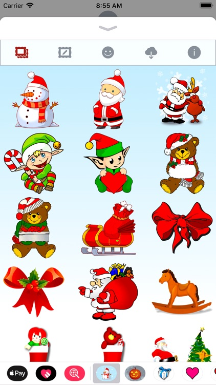 Merry Christmas • Stickers