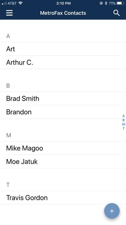 Metrofax–Send fax from iPhone screenshot-4
