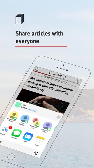 Gibraltar Chronicle Newspaper Screenshot
