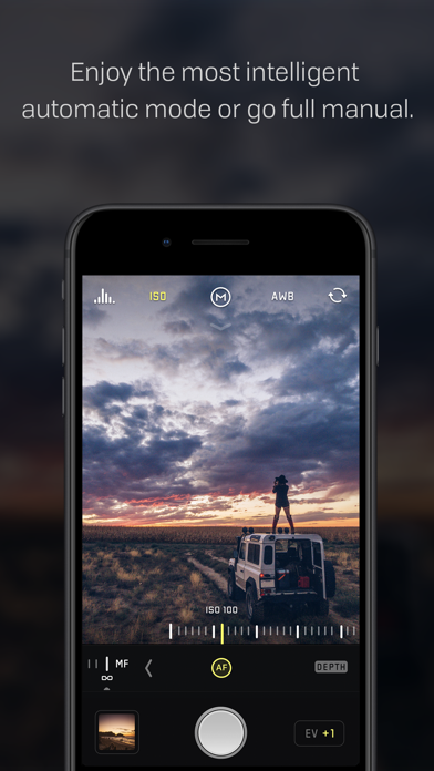 Screenshot for Halide Camera in United States App Store