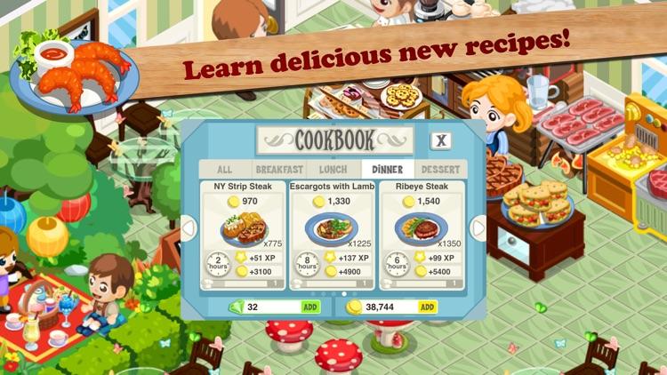 Restaurant Story screenshot-4