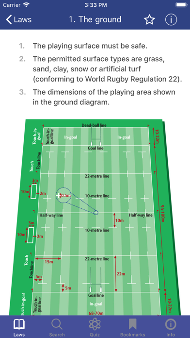 Screenshot for World Rugby Laws of Rugby in Italy App Store