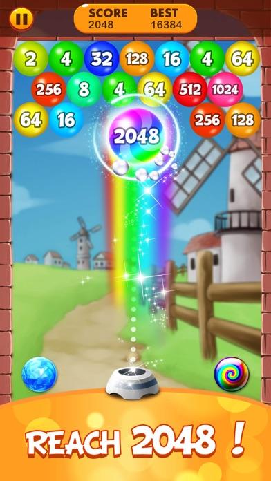 2048 Balls: Merge Magic Bubble screenshot #3