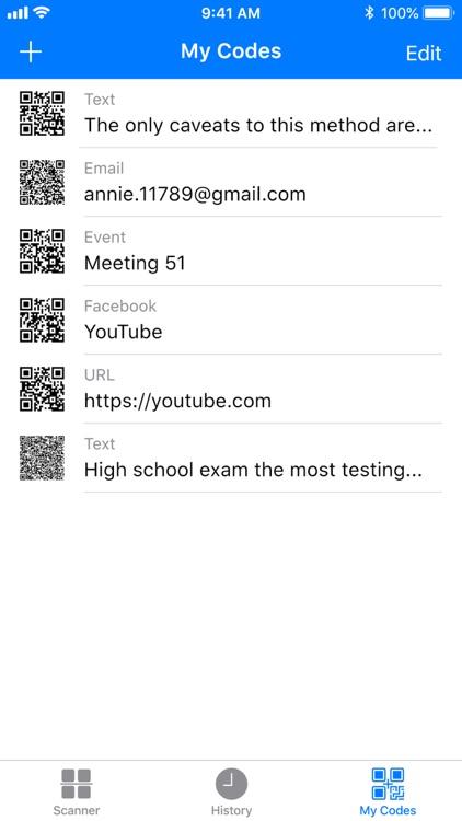 Barcode: QR code scanner screenshot-7