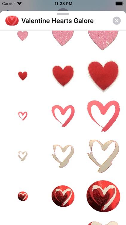 Valentine Hearts Galore