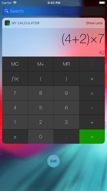 My Calculator (incl. currency) screenshot-6