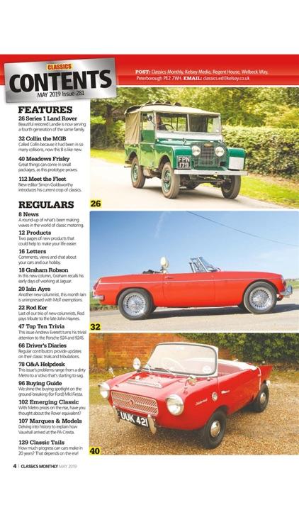 Classics Monthly Magazine screenshot-3
