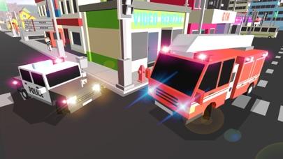 ブロッキー消防車と救急車のおすすめ画像5