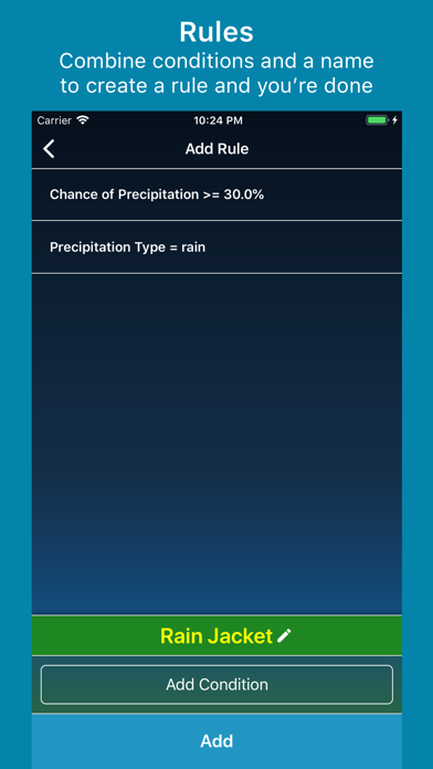 WeatherRules screenshot four