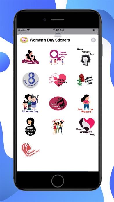 Womens Day Stickers screenshot 1