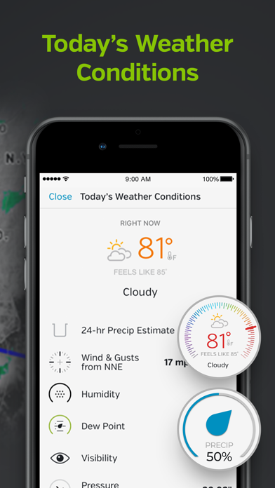 Weather Underground - Forecast Screenshot