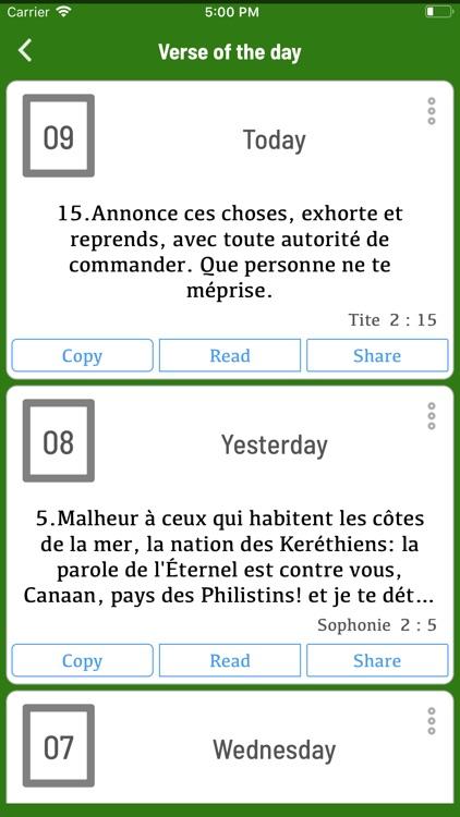 La Bible Darby Français screenshot-7