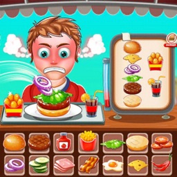 Burger Cooking Fast Food Games