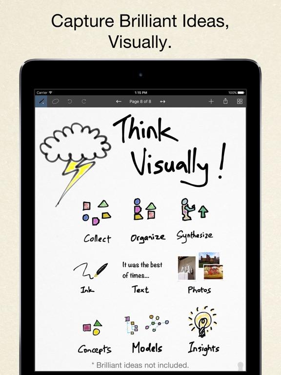Inkflow Visual Notebook screenshot