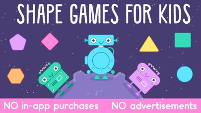 Little Robot Shapes and Colors Screenshot