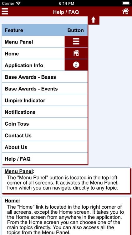 Baseball Umpire Pocket Ref screenshot-4