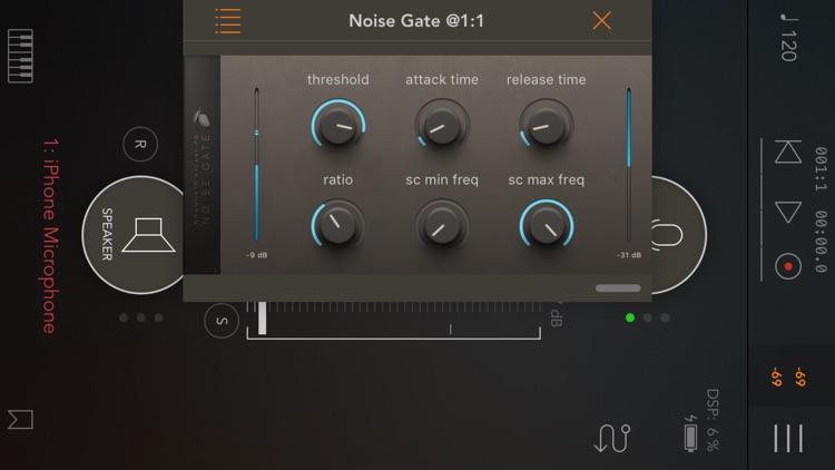 Noise Gate & Downward Expander