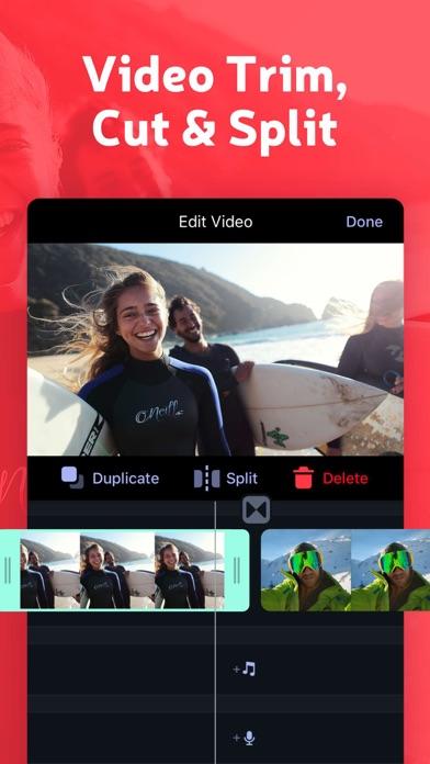 Trim and Cut Clip Video Editor Screenshot