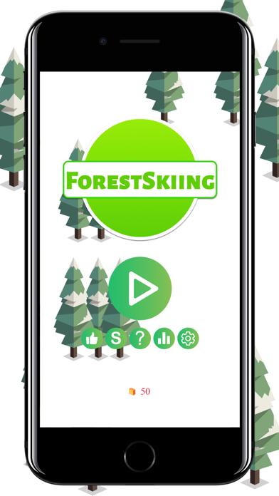 Forest Skiing screenshot #1