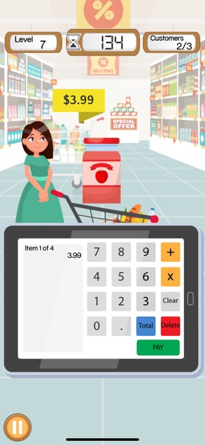 Supermarket Cashier Simulator on the App Store