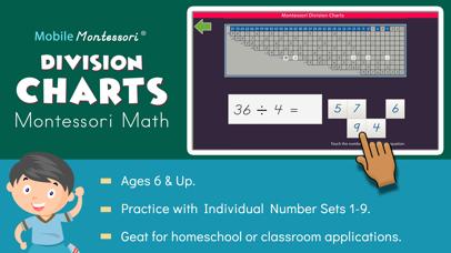 Montessori Division Charts screenshot 1